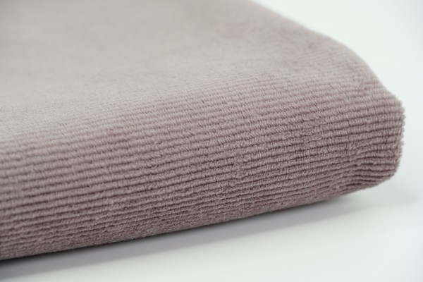 Babycord-Jersey Deep Taupe
