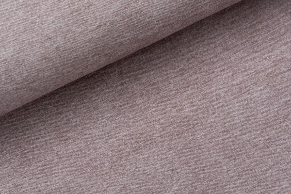 French Terry Jeansoptik Deep Taupe
