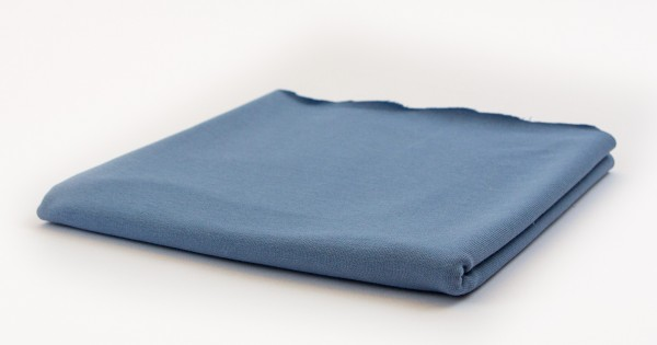 French Terry Uni Dusty Blue