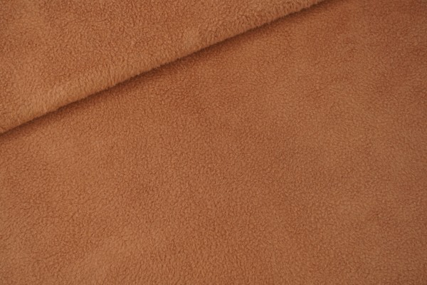 Sheepskin aus 100% Baumwollfleece Light Brown