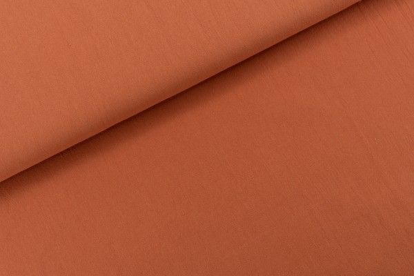 Baumwolle Rustic Cotton Solid Rust