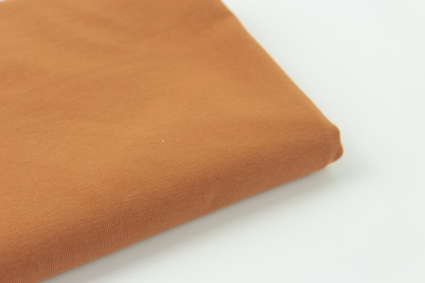 Bio Jersey Uni Light Cognac