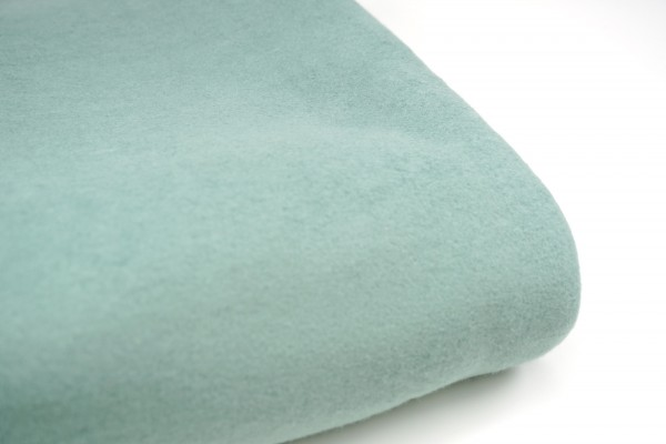 Bio Baumwollfleece Dusty Mint