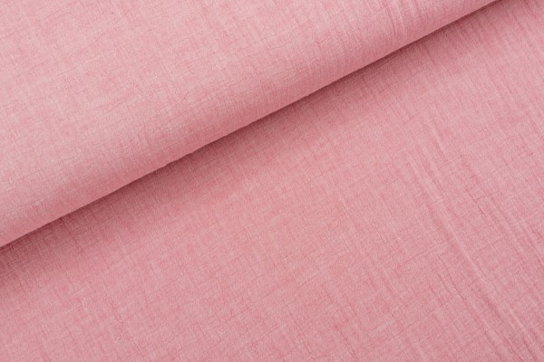 Mousseline Chambray Rose