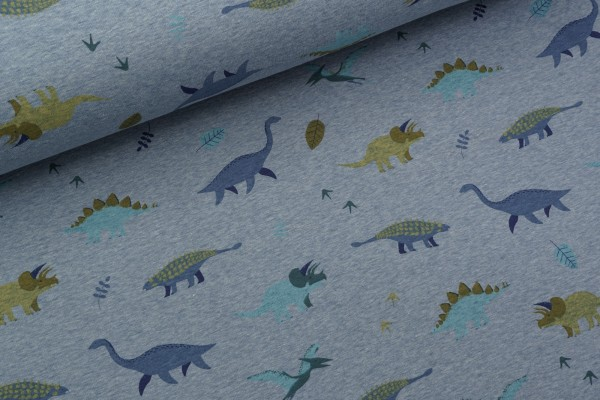 Alpenfleece Dino World Blue