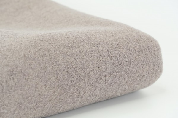 Walkloden aus 100% Wolle Taupe