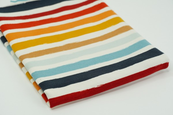 French Terry Rainbow Stripes One