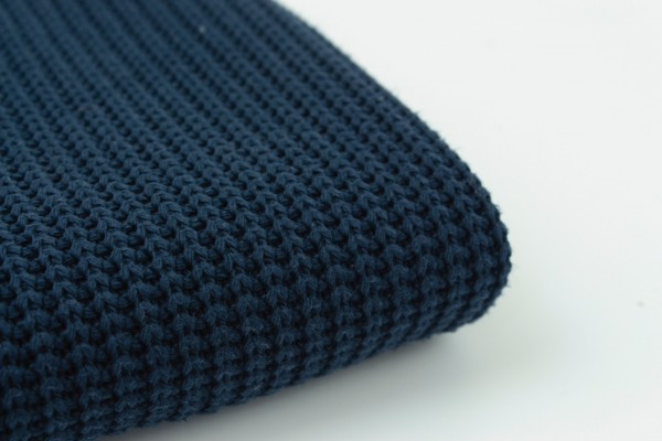 Baumwollstrick Cable Navy