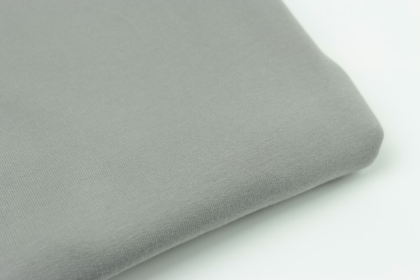 French Terry Uni Tender Grey