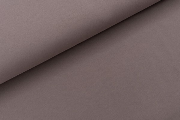 French Terry Uni Deep Taupe