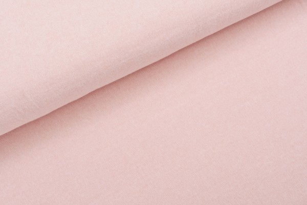 RECYCLED BRUSHED JERSEY CHALK PINK